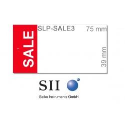 """39 x 75 mm / SLP-ENT mit Vordruck """"SALE"""" - SLP-SALE3"""