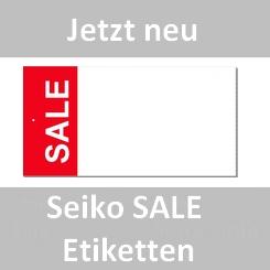 Seiko SALE Etiketten